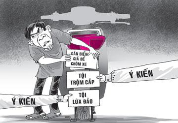Truy tìm chủ nhân số xe bỏ trốn quận Gò Vấp
